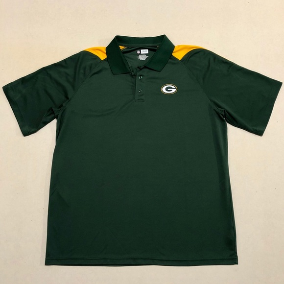quality design 55d07 0a0f4 Green Bay Packers - NFL Apparel Men's Polo 🏈